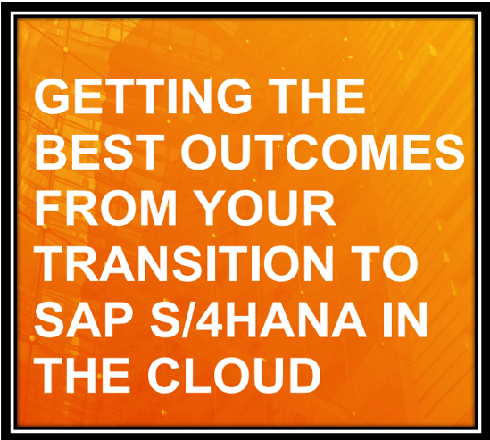 Greeting the best from SAP  S 4HANA in the cloud May2020