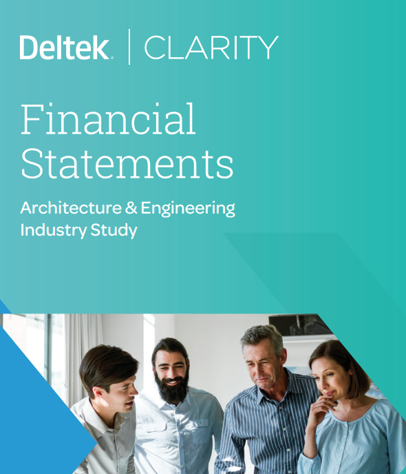 Accounting Finance Trends In The A E Industry  A Clarity Mini Report(Financial Statements)