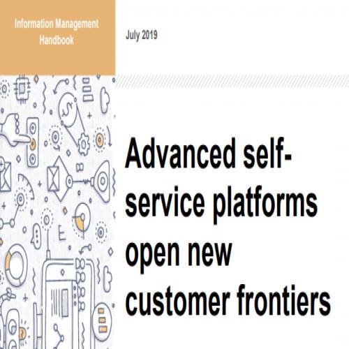 Advanced self service platforms open new customer frontiers