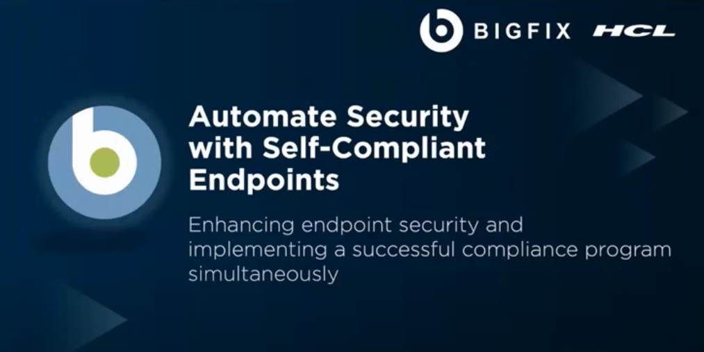 Automate Security with Self-Compliant Endpoints