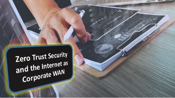 Zero Trust Security and the Internet as Corporate WAN