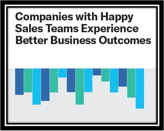 Companies with Happy Sales Teams Experience Better Business Outcomes