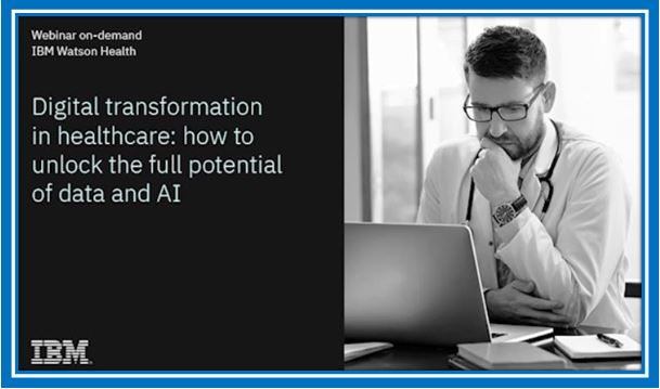 Digital transformation in healthcare- how to unlock the full potential of data and AI