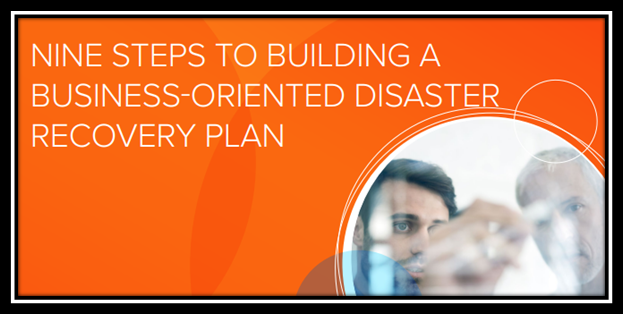 Ebook 9 Steps to Disaster Recovery Planning