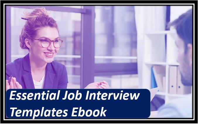 Essential Job Interview Templates Ebook
