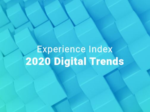 Experience Index 2020 Digital Trends