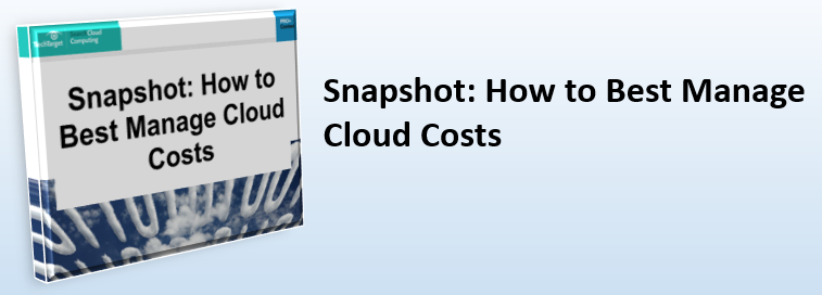 How Best to Manage Cloud Costs