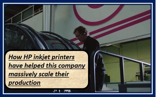 How HP inkjet printers have helped this company massively scale their production