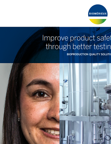 Improve product safety through better testing Bioproduction Quality Solutions
