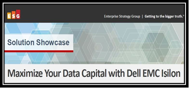 Maximize Your Data Capital with Dell EMC Isilon