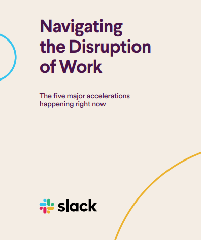 Navigating the Disruption of Work