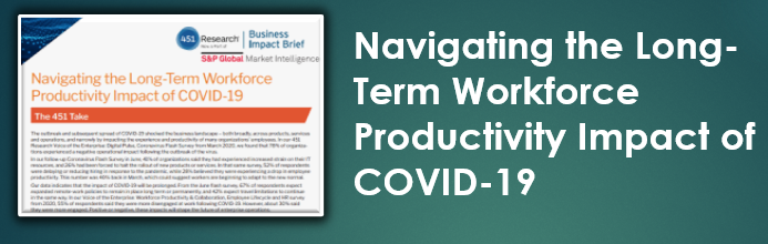 Navigating the Long Term Workforce Productivity Impact of COVID 19