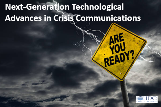 Next-Generation Technological Advances in Crisis Communications
