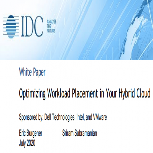 Optimizing Workload Placement in Your Hybrid Cloud