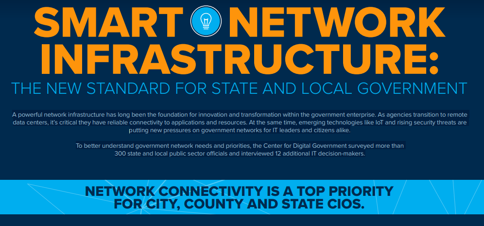 Smart Network Infrastructure - The New Standard for State and Local Government