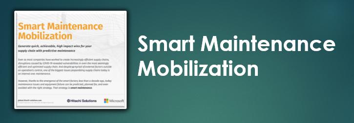 Smart Maintenance Mobilization