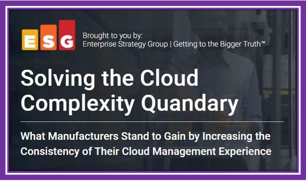 Solving the Cloud Complexity Program-Manufacturing eBook
