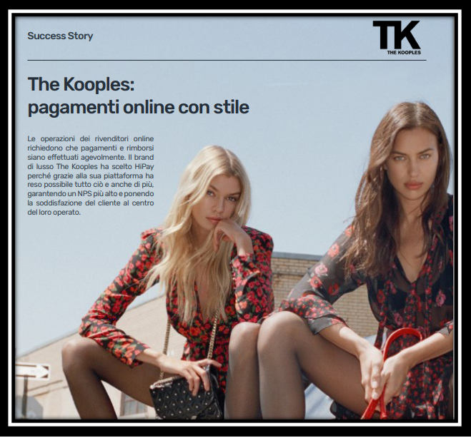 The Kooples pagamenti online con stile