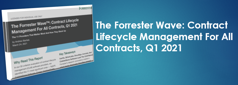 The Forrester Wave-Contract Lifecycle Management For All Contracts-Q1 2021