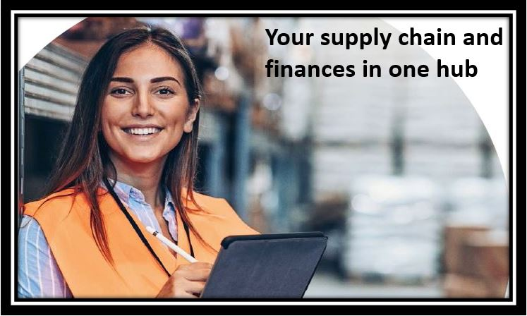 Your supply chain and finances in one hub
