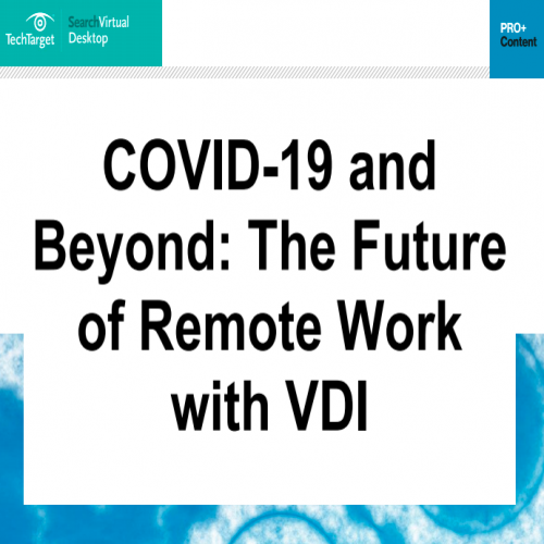 COVID 19 and Beyond The Future of Remote Work with VDI
