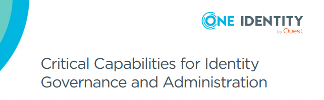 Critical Capabilities for Identity Governance and Administration