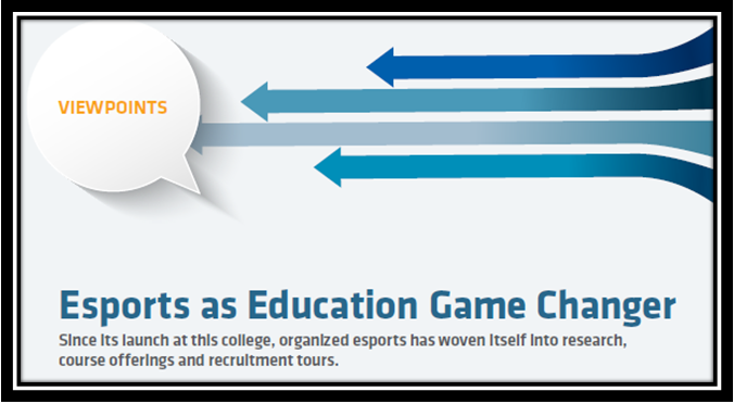 eSports as Education Game Changer
