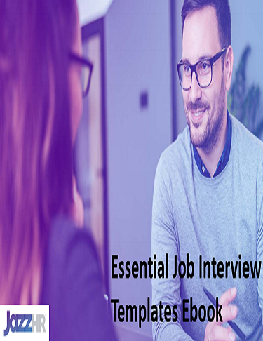 Essential Job Interview Templates Ebook