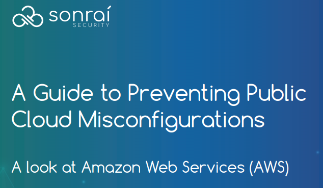Guide to Common AWS Security Misconfigurations