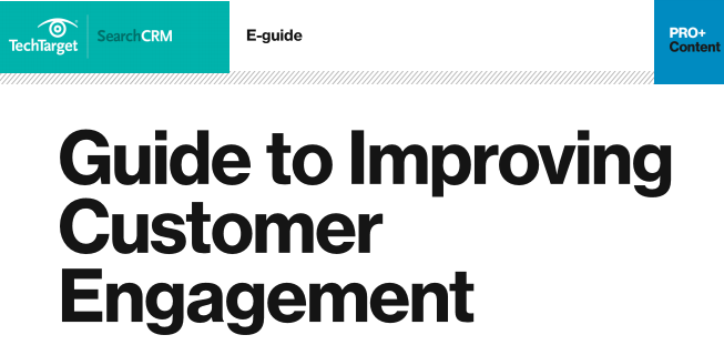 Guide to Improving Customer Engagement