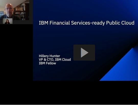 IBM Cloud for Financial Services Webinar with American Banker