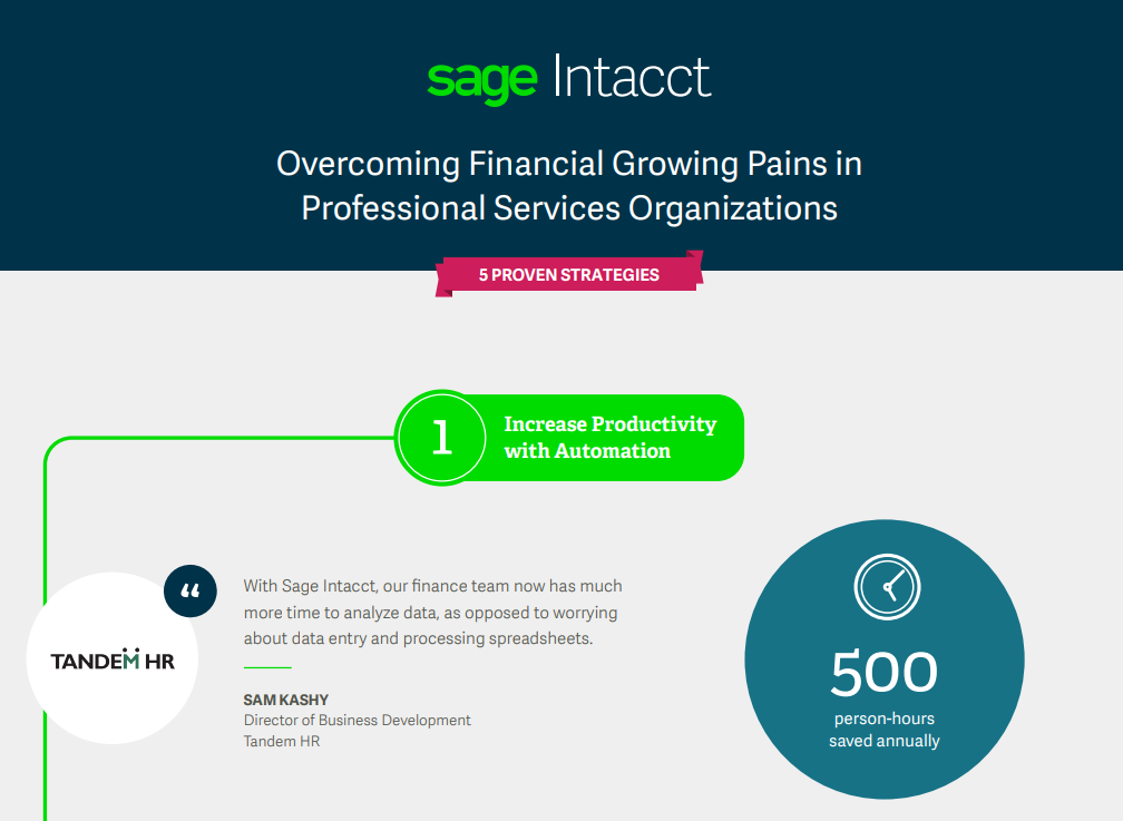 Overcoming Financial Growing Pains in Professional Services Organizations