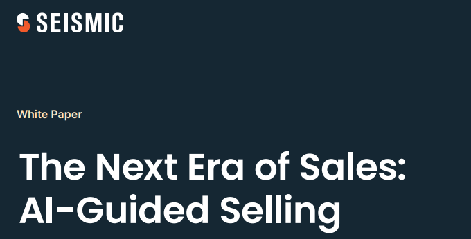 The Next Era of Sales AI Guided Selling